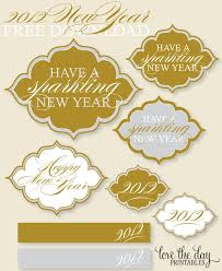 New Year Decoration Printable by 100 Best New Year U0027s Eve Images On Pinterest Happy New Year New