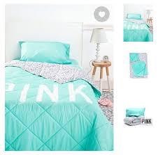 Teal Bed Set Victoria Secret Pink Teal Bedding Set Comforter Sheets U0026pillow