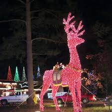 Giraffe Christmas Light Decoration by Christmas Ranch In Cleveland Brightens Holiday Spirit Houston