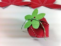 strawberry box template tutorial cute strawberry craft with candy