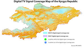 Kyrgyzstan Map Kyrgyzstan Switches Tv Broadcasting To Digital Format Mediasat