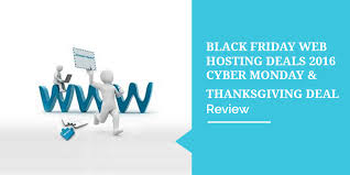 best black friday web hosting deals 2016 cyber monday