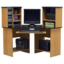 Black Corner Computer Desk With Hutch by Black Desk Decor Pictures Yvotube Com