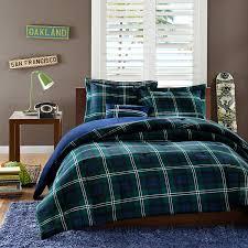 Plaid Bed Set Mizone Cameron Comforter Set