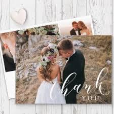 wedding photo thank you cards wedding photo and non photo thank you cards gold and silver foil