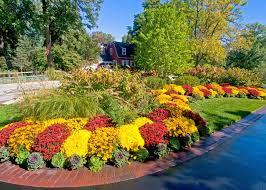 Large Backyard Landscaping Ideas Garden Design Garden Design With Fall Landscaping Ideas With