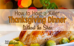 thanksgiving dinner without the stress 321balance