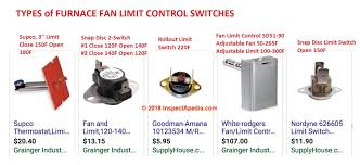 Furnace Fan Limit Switch How Does A Fan Limit Switch Work How To