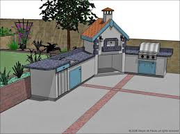 kitchen fabulous outdoor kitchen plans gas bbq kitchen outside
