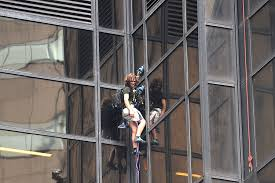 Trump Tower Ny Police Catch Trump Tower Climber Who Scaled Building Using Suction