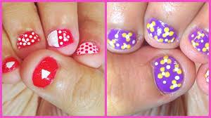 nail art easy nail art designs for short nails marvelous image