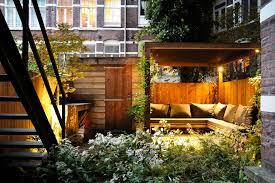 cozy garden sitting area patio contemporary with lap siding