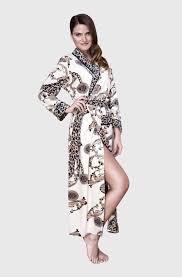 robe de chambre leopard iklil robe de chambre leopard