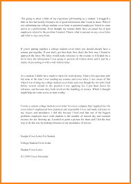 cover letter for student internship 100 cover letter example for students application letter
