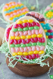 easter cookies jelly belly easter egg cookies the year