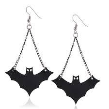 strange earrings new design personalized bats stud earrings women