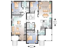 Home Design For Extended Family Awesome Duplex Plan Great For Either Income Or Extended Family