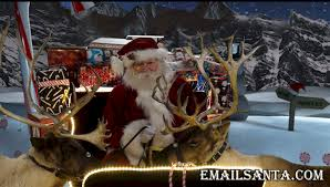 santa and reindeer how do reindeer fly the grumpy explains at emailsanta