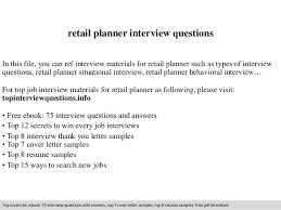 sample resume retail planner resume ixiplay free resume samples
