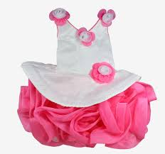 frock images party wear fancy frock pink white