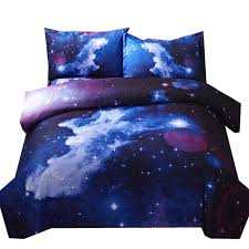 themed duvet cover 3d galaxy duvet cover set single 2pcs 3pcs 4pcs