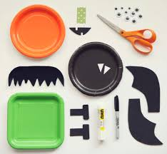 Halloween Crafts Paper Paper Plate Halloween Crafts By Kiwico Get Steam U0026 Stem Projects
