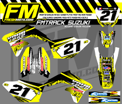 motocross racing numbers fm track kit fresh moto