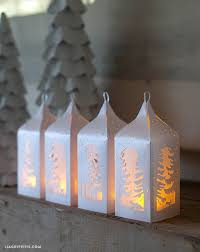 How To Make Paper Light Lanterns - make your own winter paper lanterns lia griffith