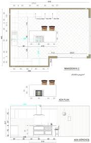 restaurant plan section and elevation my projects pinterest