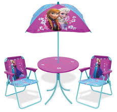 Folding Patio Set With Umbrella Disney Frozen Patio Set Toys