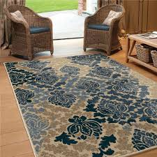 Outdoor Plastic Rug by 1843 5x8 Orian Rugs 1843 5x8 Indoor Outdoor Scroll Hastings