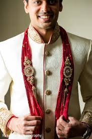 indian wedding dress for groom groom getting ready in oakbrook terrace il indian wedding by