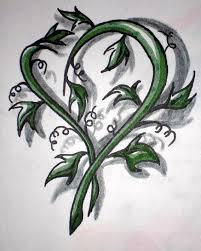 tattoos for vine heart tattoo www 6tattoos com