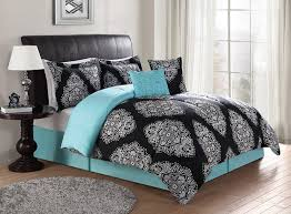 Black Bedding Sets Queen Bed Linen Glamorous Womens Comforters Bedding Sets Full