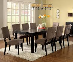 amazon com furniture of america roque rectangular dining table amazon com furniture of america roque rectangular dining table with removable leaf espresso tables