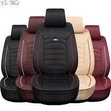 couvre siege auto cuir voiture vent housse de siège de voiture en cuir universel pour