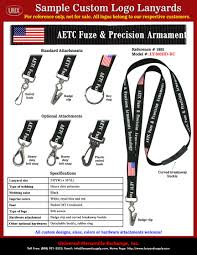Blue White And Black Flag Aetc Fuze U0026 Precision Armament Technology Lanyards With Red Blue
