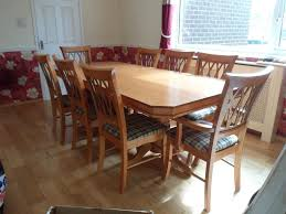 Dining Room Table With 8 Chairs by Dining Room Table And 8 Chairs In Nailsea Bristol Gumtree