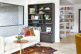Room And Board Bookcase Home Tour Atlanta Chef Kevin Gillespie Modern Ranch
