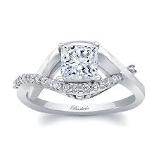 princess cut white gold engagement ring white gold princess cut engagement ring 8078l