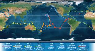 Honua Kai Map Malama Honua Voyage Map Liberty Challenge Liberty Challenge