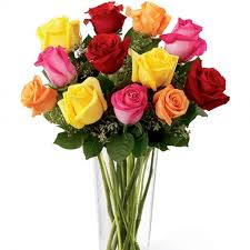 roses bouquet rainbow roses bouquet a blend of orange pink and yellow