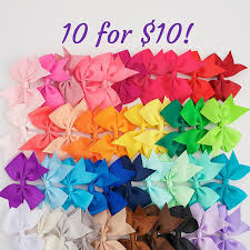 wholesale hairbows girl bows 3 5 hair bow wholesale hair bows gift