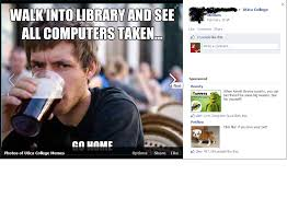 Lazy College Senior Meme - lazy college senior meme library computers info learning commons