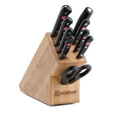 Set Of Kitchen Knives Wusthof Classic 7 Piece Kitchen Knife Block Set Hayneedle