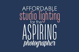 affordable photographers affordable studio lighting for aspiring photographers