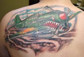 airplane tattoo images u0026 designs