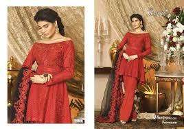 umbrella pattern salwar mahiymaan premium by cosmos 6 piece heavy work pakistani pattern