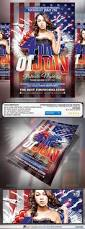 Fourth Of July Patriotic Party Flyer Patriotic Party Party