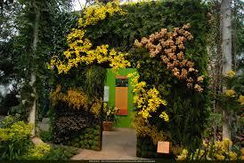 new york botanical garden orchid expo 2012 vertical garden